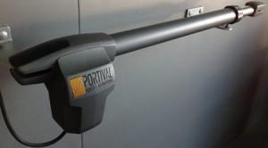 Motor de portao de batente ate 3 metros por folha kit com automatismo completo x450