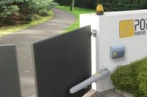 Portão automático de batente